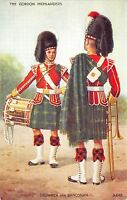 BR64767 the gordon highlanders drummer bandstand army military militaria england