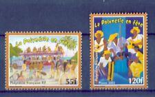 Polynesien 2002 - Volksfeste Volksmusikgruppe Reisebus Trachten Tanz Nr. 881-82