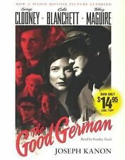 THE GOOD GERMAN Audiobook based On The Movie With George Clooney & Cate Blanchet