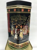 Collectable Twinings Hexagon Black Tea Tin Can Caddy Collector's Item
