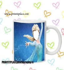 Faccia nel buco Principessa Disney congelato Elsa Tazza Babbo natale segreto Novità Di Natale