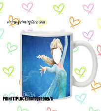 Face in the hole disney frozen princess elsa mug secret santa Christmas novelty