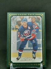 2008-09 UD Masterpieces Green #24 Pat LaFontaine 48/99