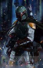 Poster A3 Star Wars Boba Fett Imperio / Boba Fett Empire Pelicula Film Cartel 02