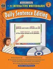 Interactive Learning: Daily Sentence Editing Grade 4