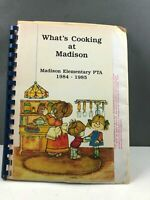 What's Cooking At Madison Cookbook Copyright 1985