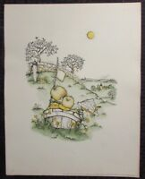 """1963 Joan Walsh Anglund 11x14.5"""" Print VG+ Spring is a New Beginning 2"""