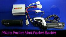 Razor Pocket Mod electrical kit,Pocket Rocket,PR200 Bella Controller & Throttle