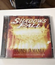SHADOWS FALL MADNESS IN MANILA LIVE THE PHILIPPINES 2009 CD+DVD SHF2-520708 OOP