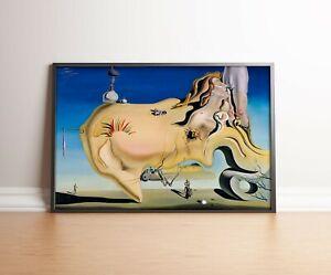 Salvador Dali Poster | El Gran Masturbador | Wall Decor | Wall Art | Art Print |