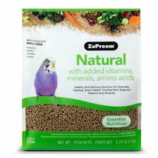 ZuPreem Natural Parakeets 2.25lb (Free Shipping In USA)