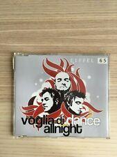 Eiffel 65 - Voglia di Dance Allnight / Tu Credi - CD Single - Gabry Ponte - 2004
