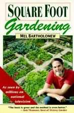 FREE SHIPPING! Square Foot Gardening : A New Way to Garden by Mel Bartholomew