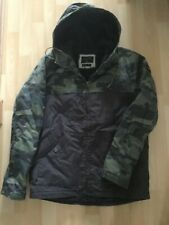 Men's Size Small Camouflage Jacket by Quiksilver