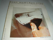 FINE HOMEBUILDING No. 8 APRIL/MAY   1982