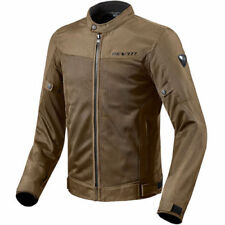 Blousons marron textiles Rev'it pour motocyclette