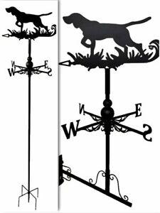 Wall mounted and Floor standing Weathervanes Steel  Dog  Weathervane Gift