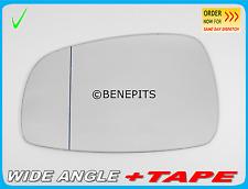 SUZUKI SWIFT 2005-2010 Wing Mirror Glass Wide Angle +TAPE Left Side /SU015