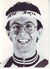 CYCLISME carte photo JACQUES DECRION équipe SKIL 1985  format 17,5 x 12,5 cm