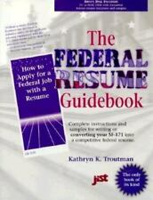 Federal Resume Guidebook: A Step-By-Step Guidebook for Writing a-ExLibrary