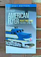 2021 AMERICAN FLYER PRICE GUIDE, LATEST EDITION GREENBERG'S  ..$15.99 EACH!.(F6)