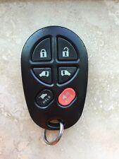 Toyota VAN SIENNA Keyless Remote  KEY FOB  (6-BUTTON)  GQ43VT20T GOOD!