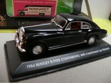 1/43 yat ming Bentley R-Type continental negro with coachwork by franay 43212
