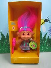 """Kyra - 5"""" Ace Treasure Troll Doll - New In Package w/Minor Flaws"""