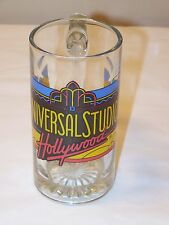 Universal Studios Hollywood Glass Coffee Cup Mug