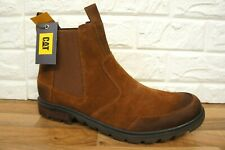 Caterpillar Mens Size 12 UK Economist Rust Brown Pull on Boots BNWB P722853 CAT