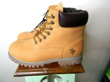 us polo assn work boot size 10.5