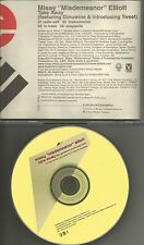 MISSY ELLIOTT & GINUWINE & tweet Take Away INSTRUMENTAL &ACAPELA PROMO CD Single