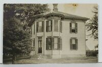Rppc Unique Home Victorian Oddly Shaped Design Real Photo c1907 Postcard L11
