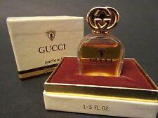 Vintage Gucci 1 Parfum 1/5th oz New in Presentation Box! Pure Perfume Rare