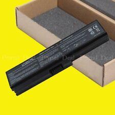 6Cell Battery For Toshiba Satellite C655 L600 L675 L675D L700 L745 L750 PABAS230