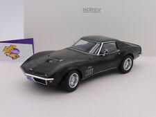 """Norev 189030 # Chevrolet Corvett Baujahr 1969 in """" dunkelgrünmetallic """" 1:18 NEU"""