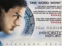 Minority Report (Zweiseitig) Original Filmposter