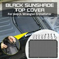 Car Sun Mesh Shield Shade Top Roof Cover Sunshade UV for Jeep Gladiator Wrangler