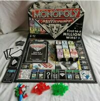 Monopoly Millionaire Board Game 2-4 Players Ages 8+ Hasbro Games 2012