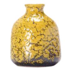 Home/Office Cute Chinese Vase Decor Vase Mini Vase Small Vase, Yellow