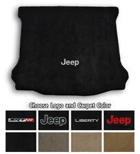 Jeep Liberty Ultimats Carpet Cargo Floor Mat - Choose Color & Logo