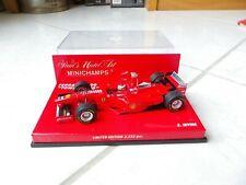 Ferrari F300 Tower Wing Eddie Irvine #4 Minichamps 1998 1/43 F1 Formule 1 RARE