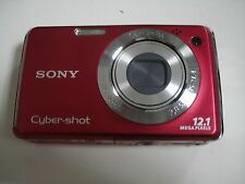 Nice SONY CyberShot DSC-W230 12MP Digital Camera - Red