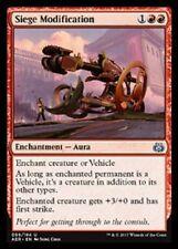 Siege Modification X4 NM Aether Revolt Red Uncommon MTG