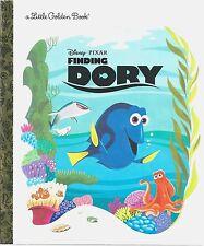 FINDING DORY Little Golden Book NEMO Brand New WALT DISNEY Pixar PICTURE Story