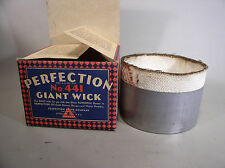 Case of 6 PERFECTION No. 441 Giant Wick for oil cook stoves