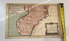 HUGE 1773 SC MAP Winnsboro Woodford Yemassee South Carolina History SURNAMES !