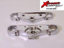 Honda VTX1800C, C1, F1, N1 Bridge Fork Top, Bottom Upper & Lower Triple - CHROME