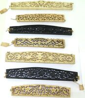 .7 VINTAGE HIGHLY CARVED ASIAN INSPIRED BAG / CLUTCH HANDLES. #2
