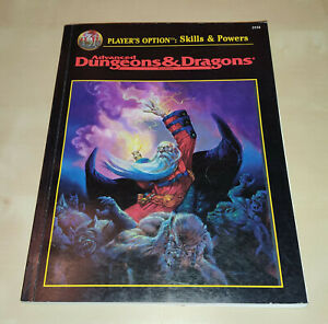 Advanced Dungeons & Dragons * Regelbuch Player's Option: Skills & Powers (2154)